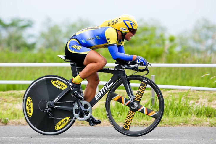 昨年の男子U23で優勝した山本元喜(現ヴィーニファンティーニ・NIPPOデローザ)