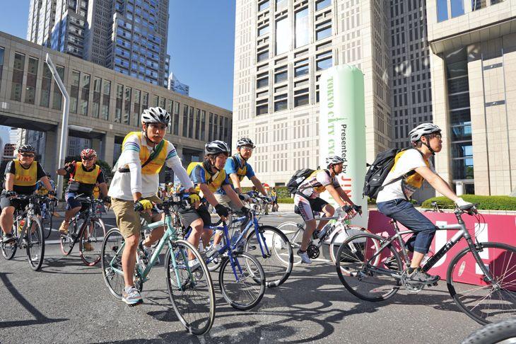 自転車の 東京 自転車 イベント 2013 : 休日の首都を自転車散歩「東京 ...