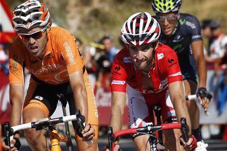 ステージ12位のダニエル・モレーノ(スペイン、カチューシャ)