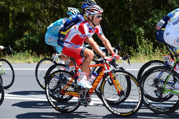 ステージ5位のホアキン・ロドリゲス(スペイン、カチューシャ)