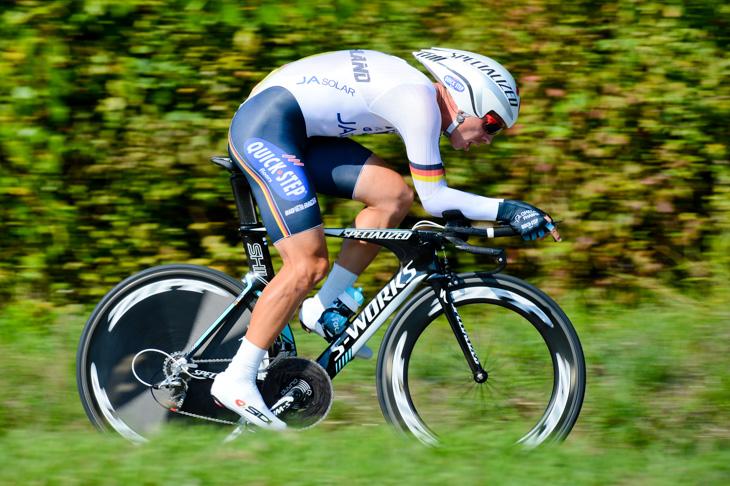1時間05分36秒のトップタイムをマークしたトニ・マルティン(ドイツ)