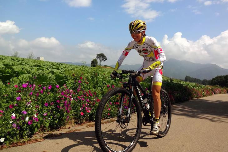長きに渡り自転車競技の第一線で活躍を続ける中込由香里(team SY-Nak)