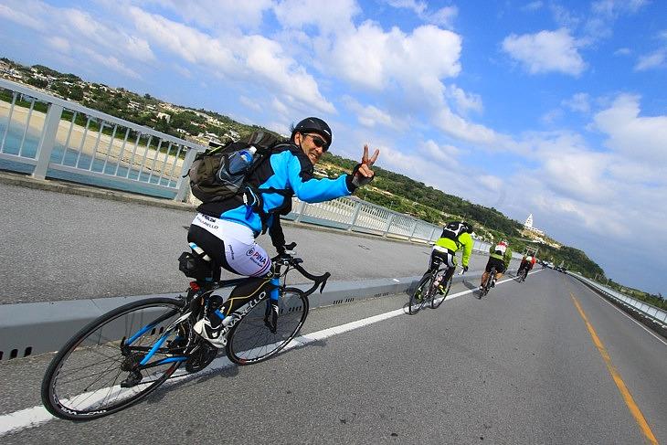 今年の古宇利大橋は絶好の天候に恵まれました。