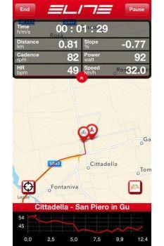 コースマップモード画面: (c)カワシマサイクルサプライ