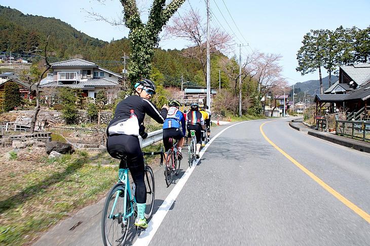 長閑な田舎道が続きます。サイクリングはこうでなくっちゃ!