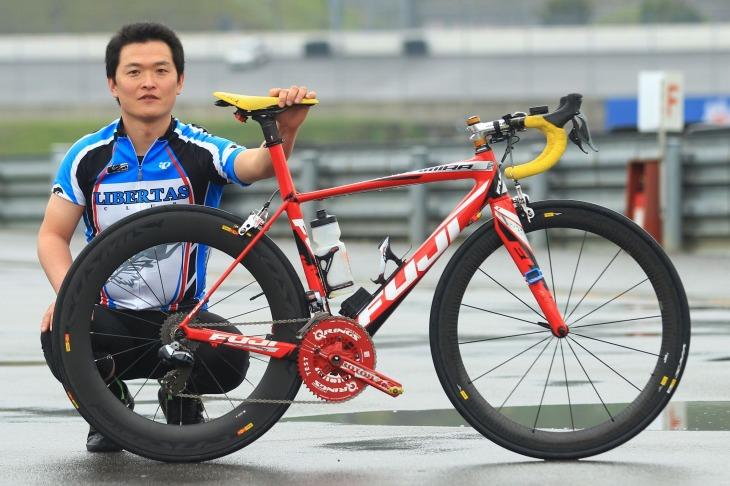 自転車の fuji 自転車 ツールドフランス : 青木康徳さん(LIBERTAS CLUB) FUJI ...