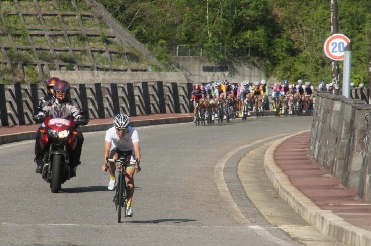 木祖村、味噌川ダム周回コースで開催された「2days race in 木祖村」