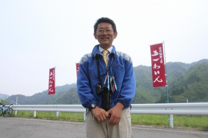小さな日本一レースを開催するレースディレクターの藤森信行氏