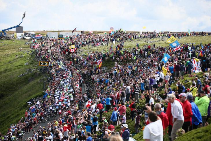 大成功に終わったツール・ド・フランス2014序盤のイギリスステージ