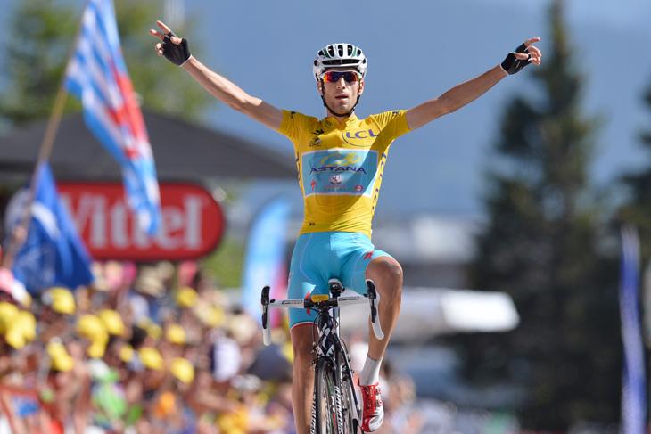 2014年のツール・ド・フランスを制したヴィンツェンツォ・ニーバリ(イタリア)