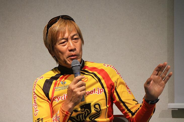 「自転車を好きになってもらうことが大切」ブラッキー中島氏(ウィーラースクール)