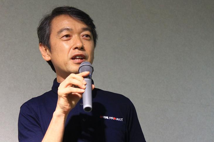 「発展のための旗振り役として活躍したい」宮田泰郎氏