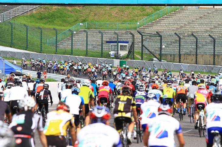 毎年大人気の2時間サイクルマラソン
