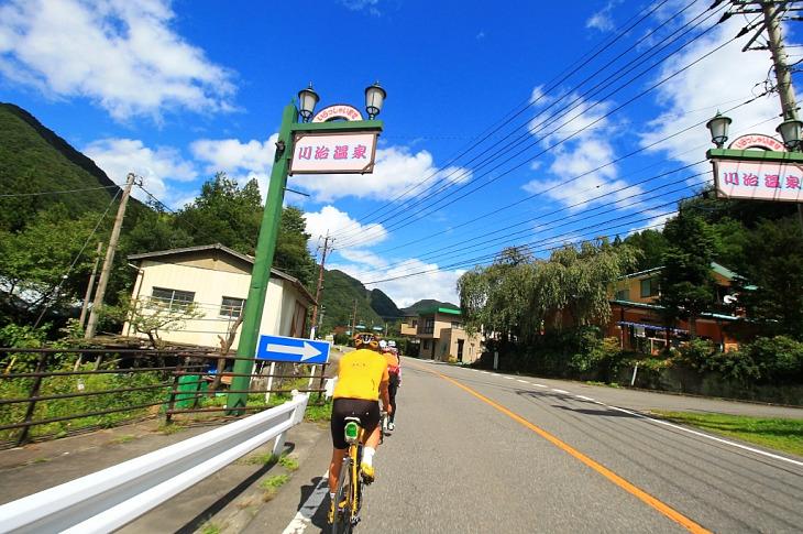 川治温泉郷に入ってきました。