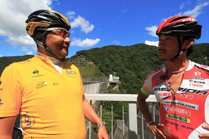 「会長も100kmコースでしょ?」「坂道イヤだよ!」