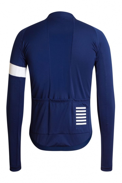 Rapha Long Sleeve Pro Team Jersey(ブルー、背面)