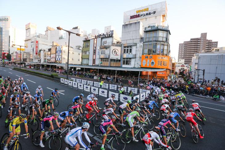 コース西側の180度コーナーをクリア: photo:Kei Tsuji