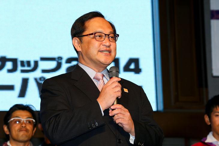 「来年のジャパンカップはさらにバージョンアップする」と荒川宇都宮市副市長