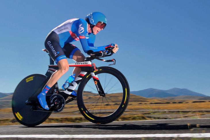 TTではQ-Rings、ロードレースではno-Qと使い分けるダニエル・マーティン(アイルランド、ガーミン・シャープ)