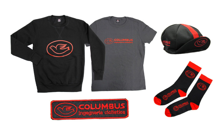 チネリ Columbus Ingegneria Ciclistica Capsule Collection