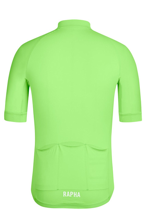 Rapha Pro Team Aero Jersey(Bright Green、背面)