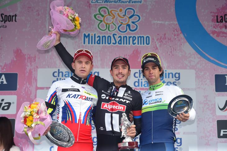雨のサバイバル6時間46分 デゲンコルブがミラノ〜サンレモ初制覇