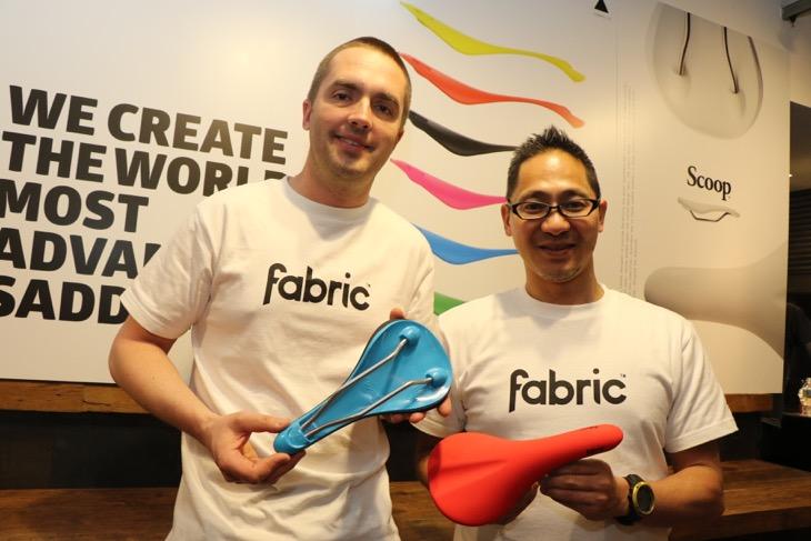 ファブリック創業者のニック・ラーセン氏と、国内展開を行うファブリック・ジャパンの池田新氏
