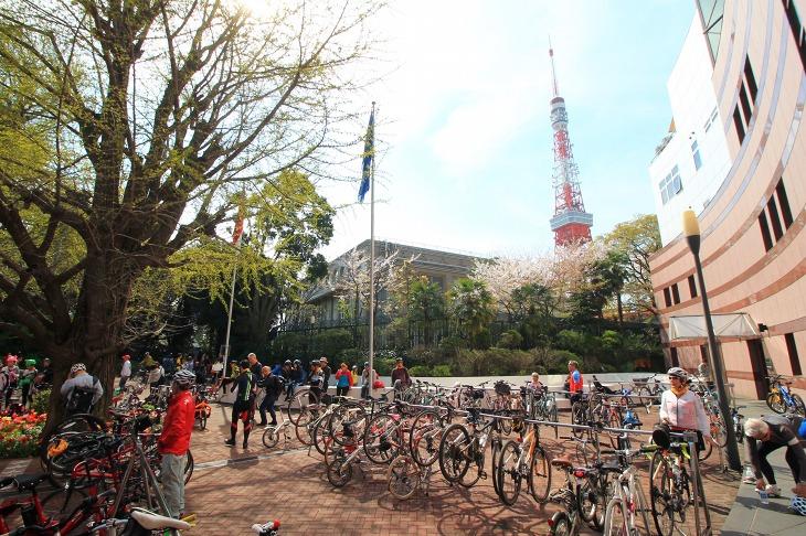 東京タワーの近くに位置するオランダ大使館
