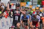 第5ステージ ジョン・デゲンコルブ(ドイツ、ジャイアント・アルペシン)が最終スプリントを制する