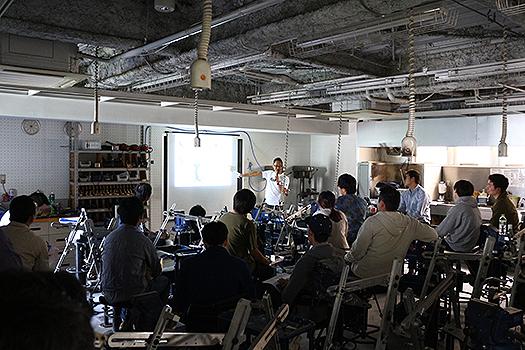 5月11日に行われたデザインアワード説明会