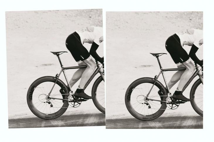 自転車に取付た際のルックスにもこだわってデザインされている