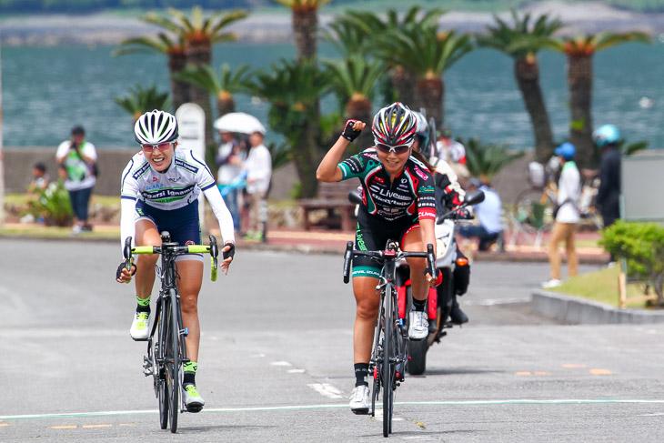 3Day's Road 熊野2015第3ステージで勝利した針谷千紗子。心身の不調と戦いながらも毎年成績を残し続けた: photo:Hideaki TAKAGI