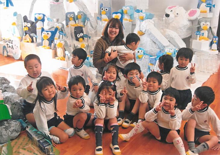 幼稚園教諭時代の平野さん