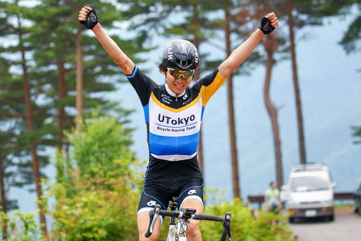 浦佑樹(東京大)が25kmを独走して優勝