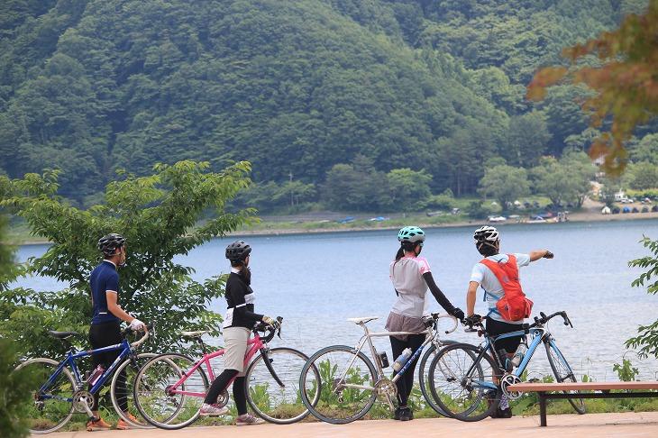 湖水を巡るサイクリングへとリニューアルしたMt.fujiエコサイクリング2015