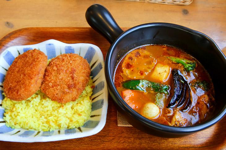 北海道名物のスープカレーなども味わえるかも