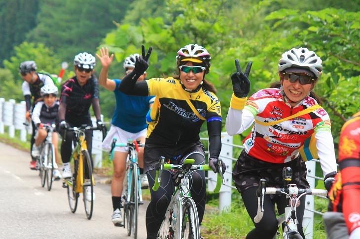 60kmコースは女性比率が高い!