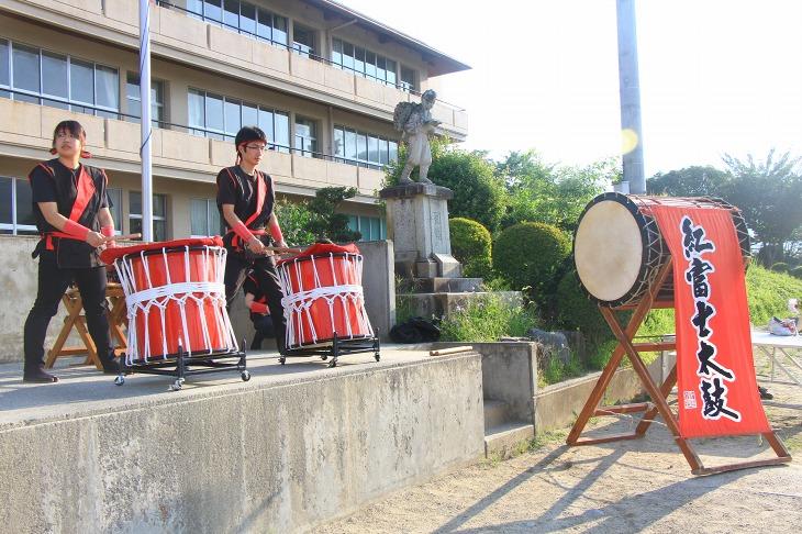 紅富士太鼓の演奏もありました