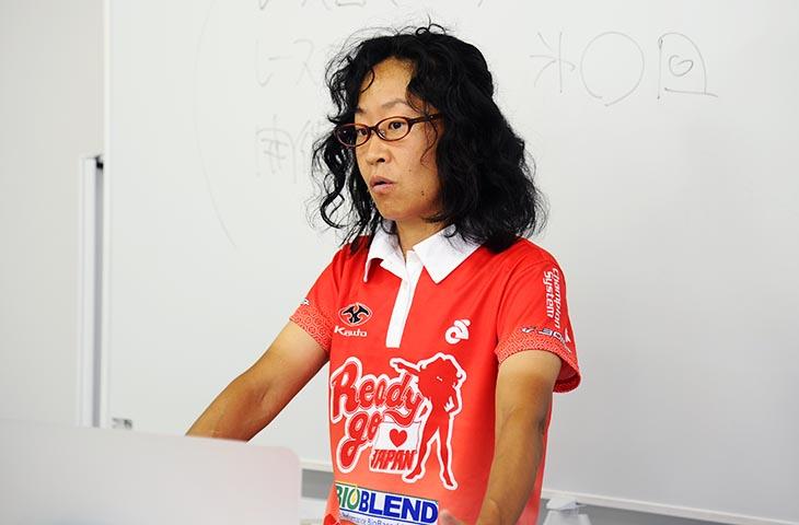 須藤むつみ Ready Go JAPAN代表