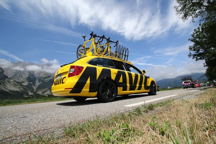 ロゴを一新したマヴィックカー。このツールがお披露目だったようです