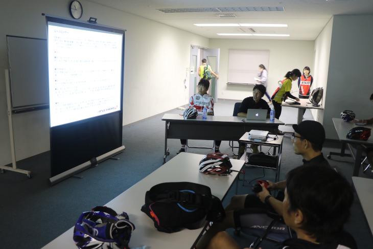 U23MTBクロスカントリー全日本王者の沢田時選手らによるビギナー向け講習会