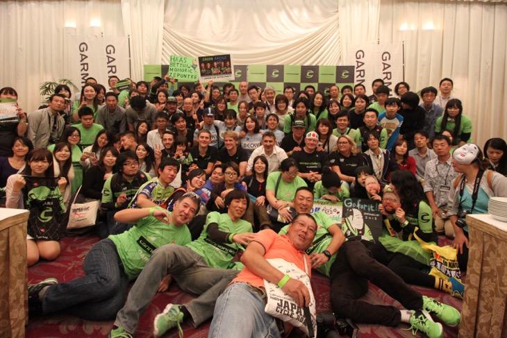 キャノンデール・ドラパックのジャパンカップアフターパーティーが開催される