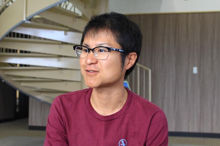 サイクルショップ Spring Wind 230の店長である、理事の小泉卓也さん