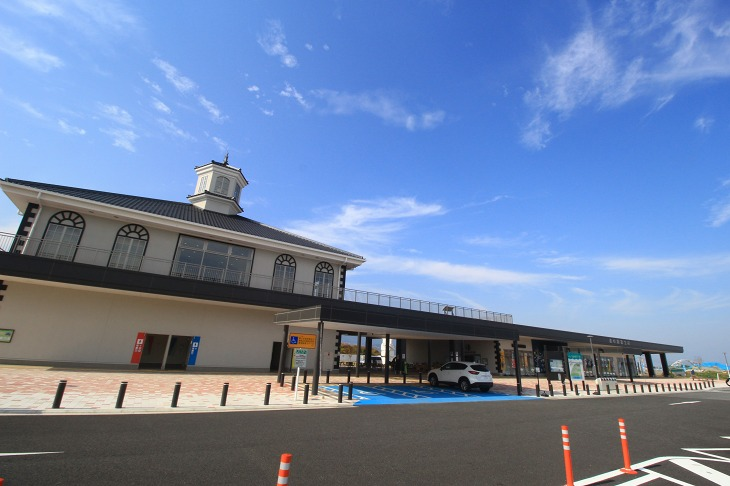 道の駅富士川はこれからサイクリングの拠点となってくれるだろう