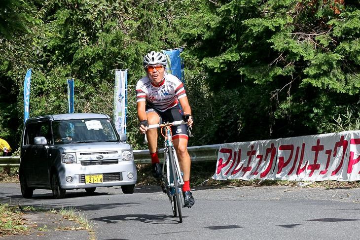 大星山HC E3クラスタ優勝の李 正明(VC Fukuoka)