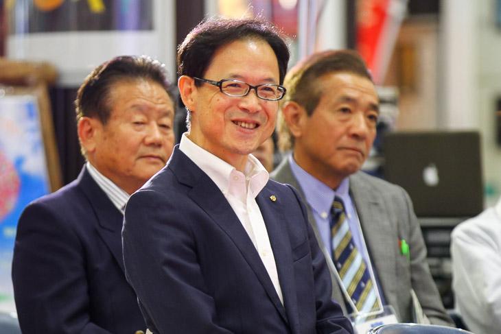 大分市の佐藤樹一郎市長は1990年宇都宮世界選手権ロード開催側の一員