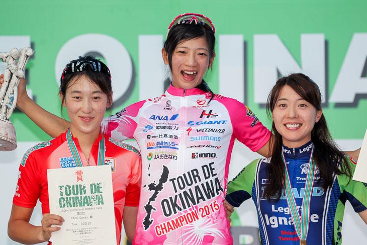女子国際100km 表彰
