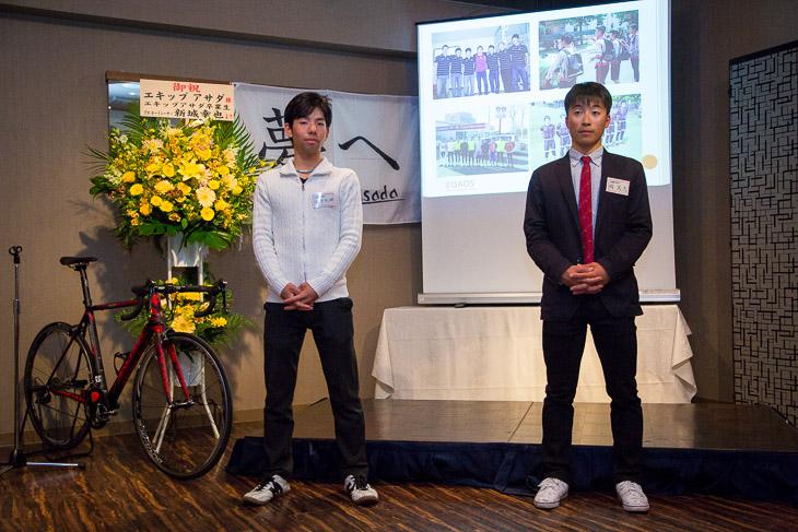 EQADSを卒業する面手利輝と岡篤志