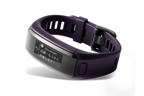 ガーミン vivosmart HR J(Imperial Purple)