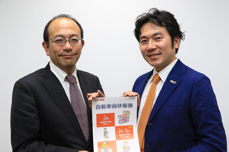 笹嶋 寛さん(au損保・営業推進部部長)、別府 始さん(スポーツジャーナリスト)
